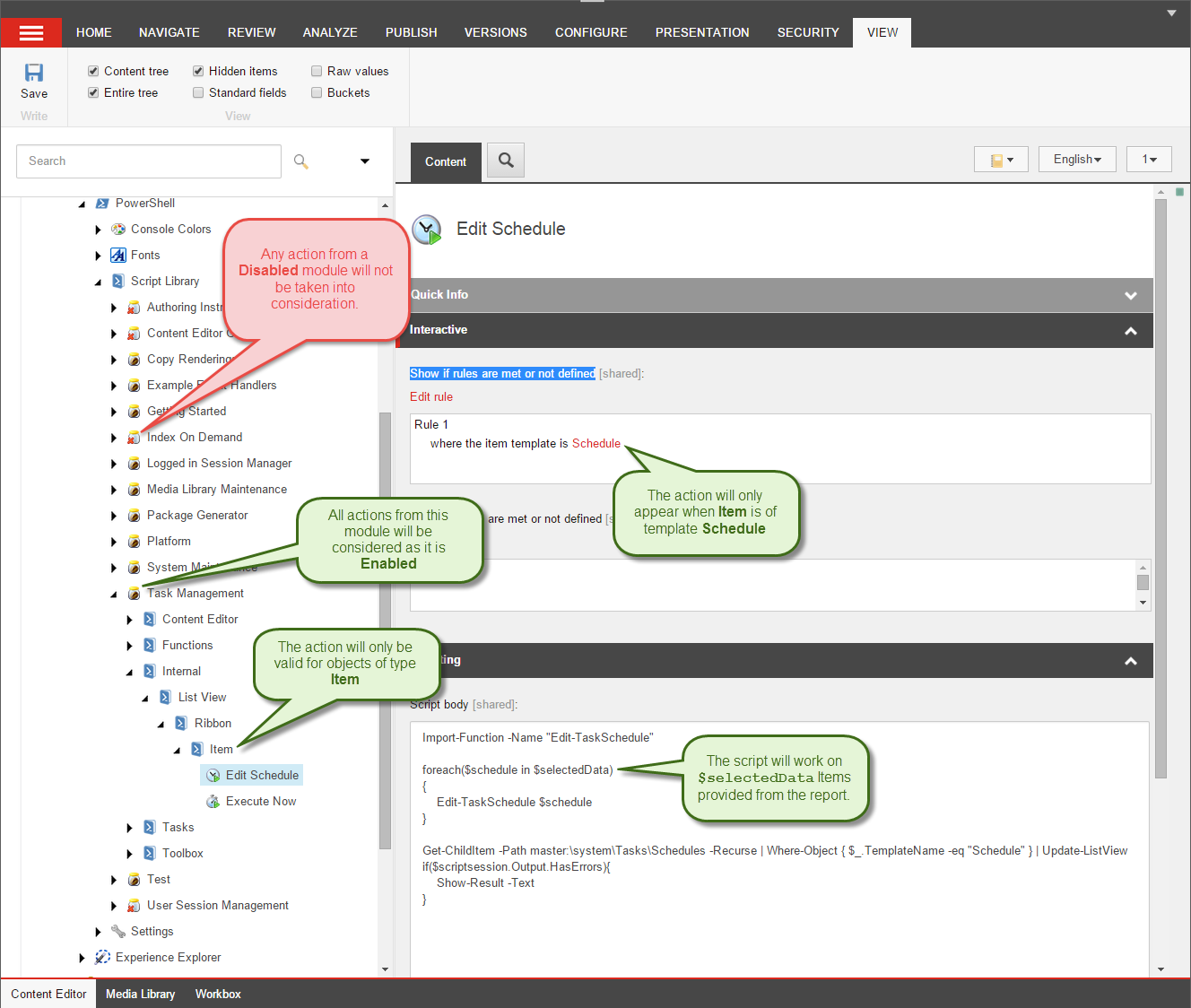 Turn your Sitecore PowerShell reports into applications with
